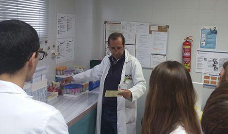 El Centro de Salud San Agustín recibe a nuestros alumnos de 1º de Auxiliar de Enfermería