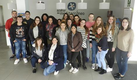Azahar del Mediterráneo abre sus puertas a nuestros alumnos de TCAE