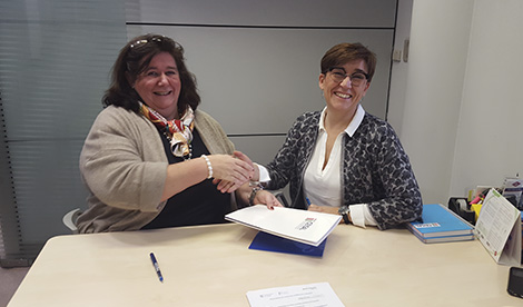 Firmamos convenio con la FGUA para acreditar formación de posgrado
