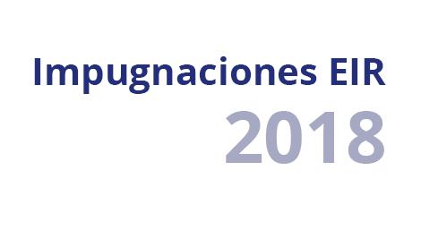 Posibles impugnaciones EIR 2017 2018