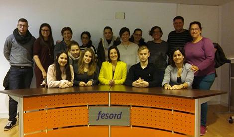 Visita al Centro de Atención a Personas Sordas de la Fundación Fesord CV y el Gabinete Audiológico AEC SoundMedic