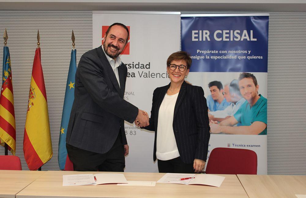 Ceisal y la Universidad Europea de Valencia firman un convenio de colaboración