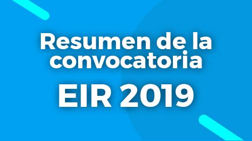 Convocatoria de pruebas selectivas 2019 para formación sanitaria especializada